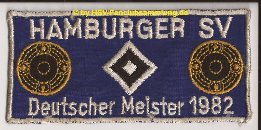 k hamburger sv deutscher meister 1982 dunkelblau. Black Bedroom Furniture Sets. Home Design Ideas